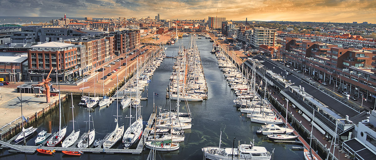 Jachthaven in Scheveningen