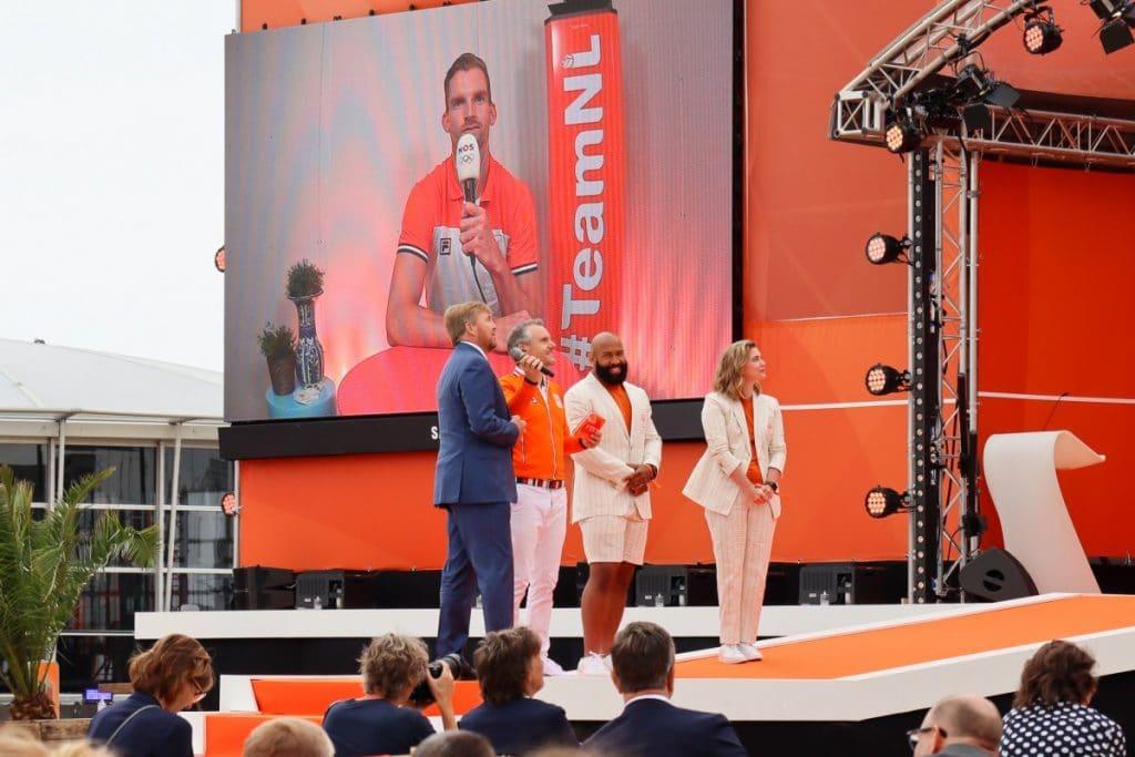 Koning opent Olympic Festival op Scheveningen